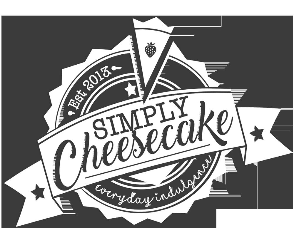 Simply Cheesecake Logo Central Rectangle