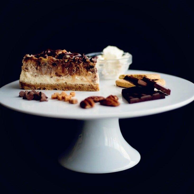 Cheesecake Plate